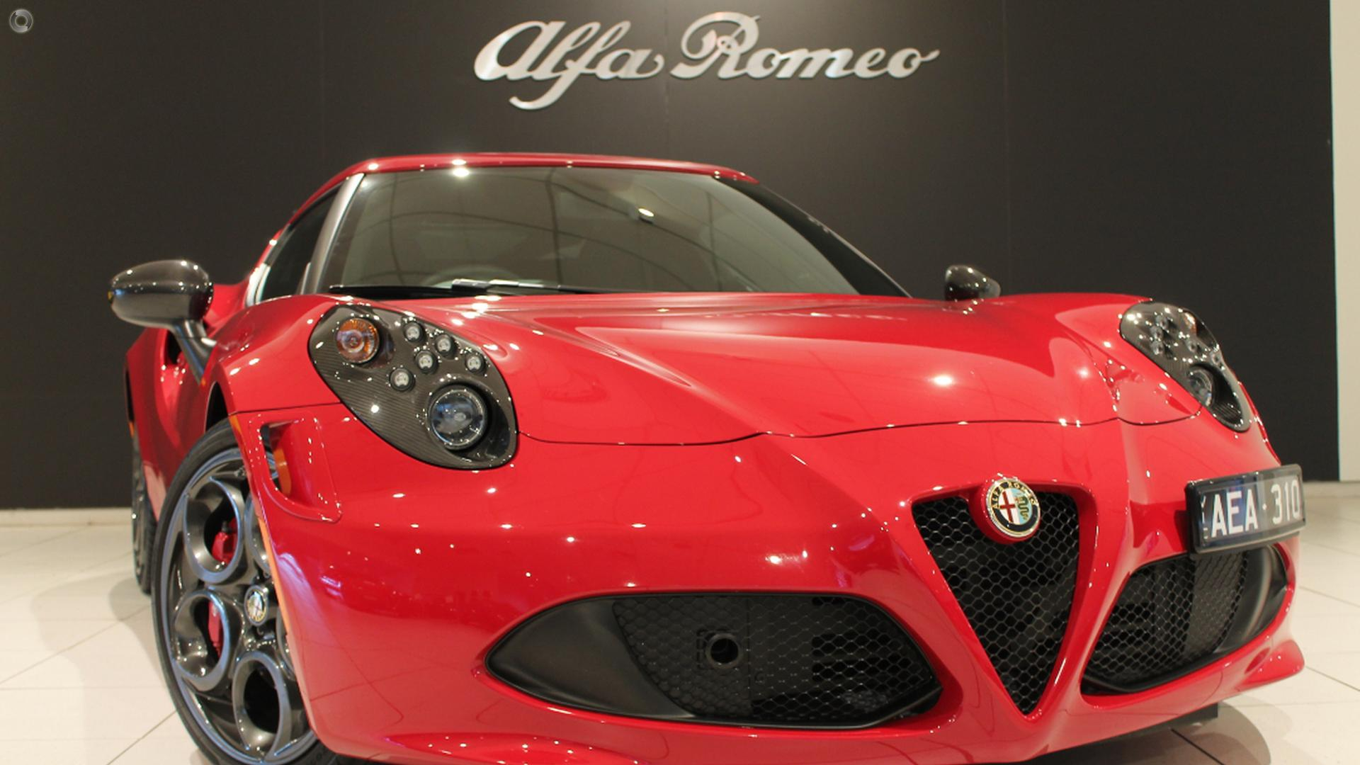 2015 Alfa Romeo 4C Launch Edition (No Series)