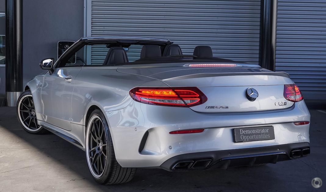 2018 Mercedes-Benz C 63 AMG S Cabriolet