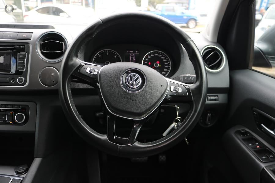 2015 Volkswagen Amarok TDI420 Highline 2H