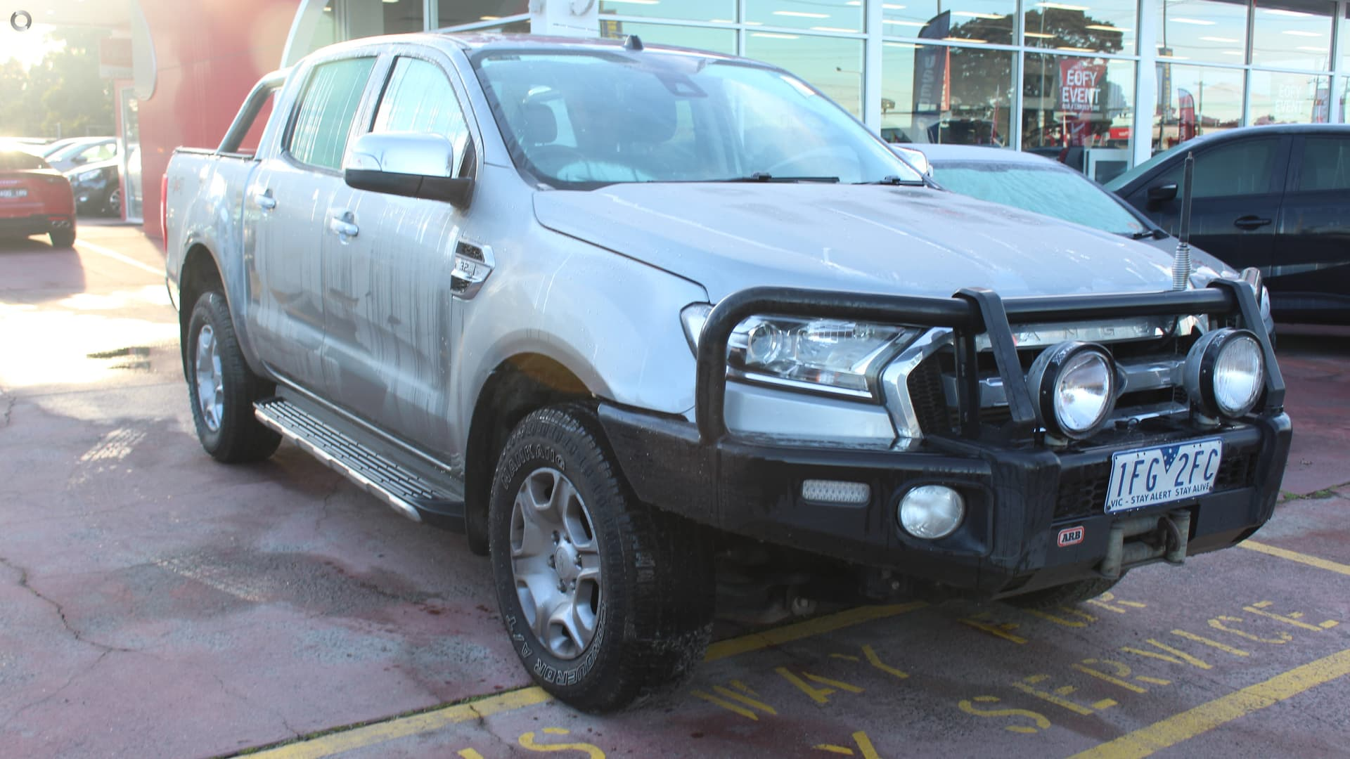 2015 Ford Ranger PX MkII