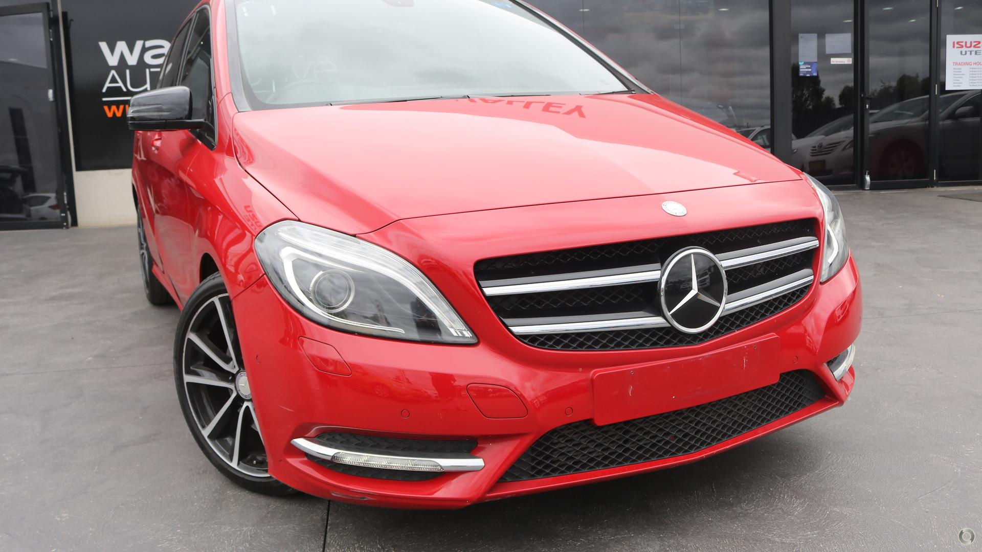 2012 Mercedes-benz B250 Blueefficiency