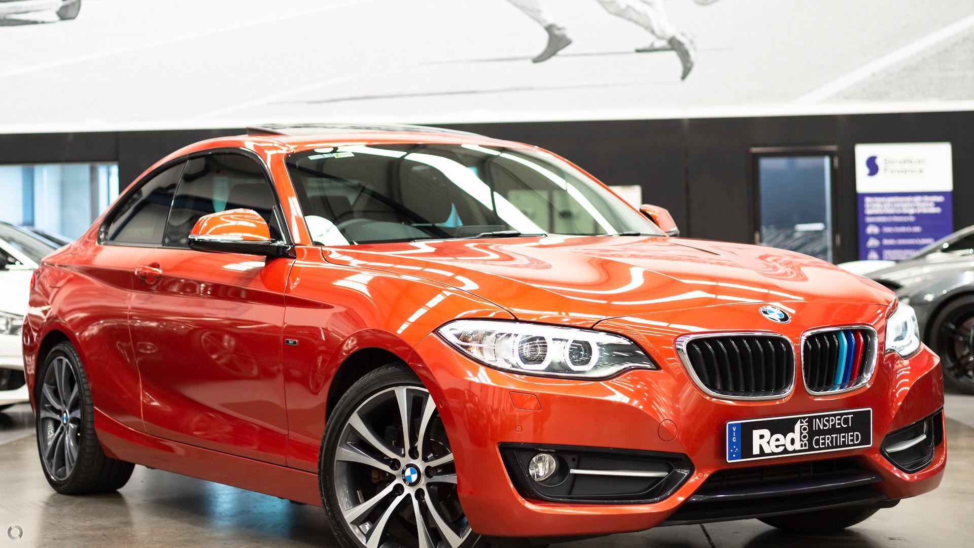 2014 BMW 220i Sport Line  F22
