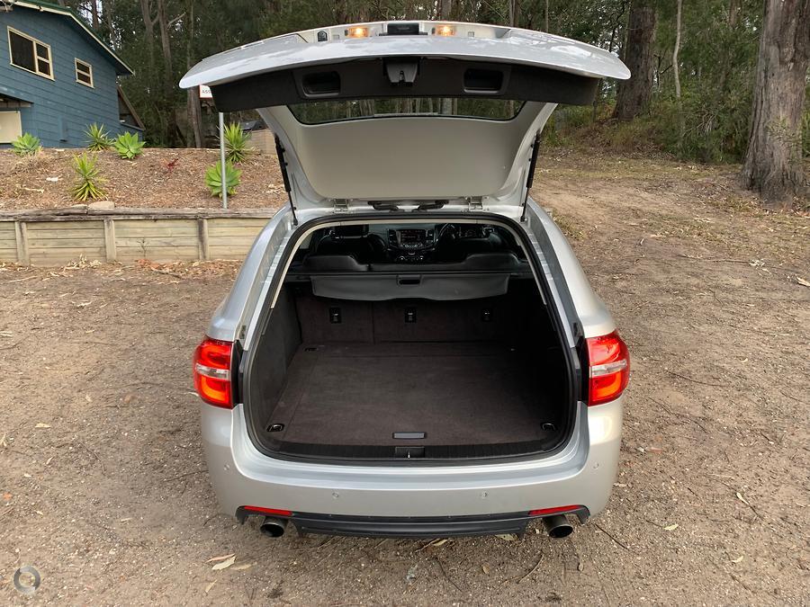 2016 Holden Commodore SV6 Black VF Series II