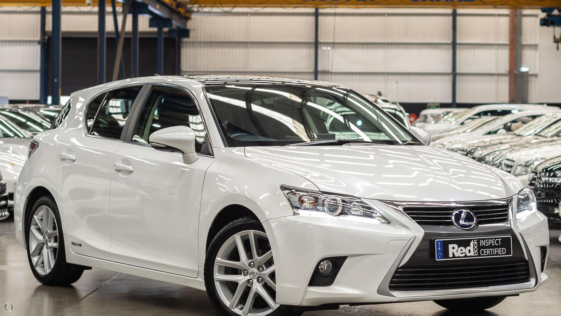 2016 Lexus CT200h Limited Edition ZWA10R