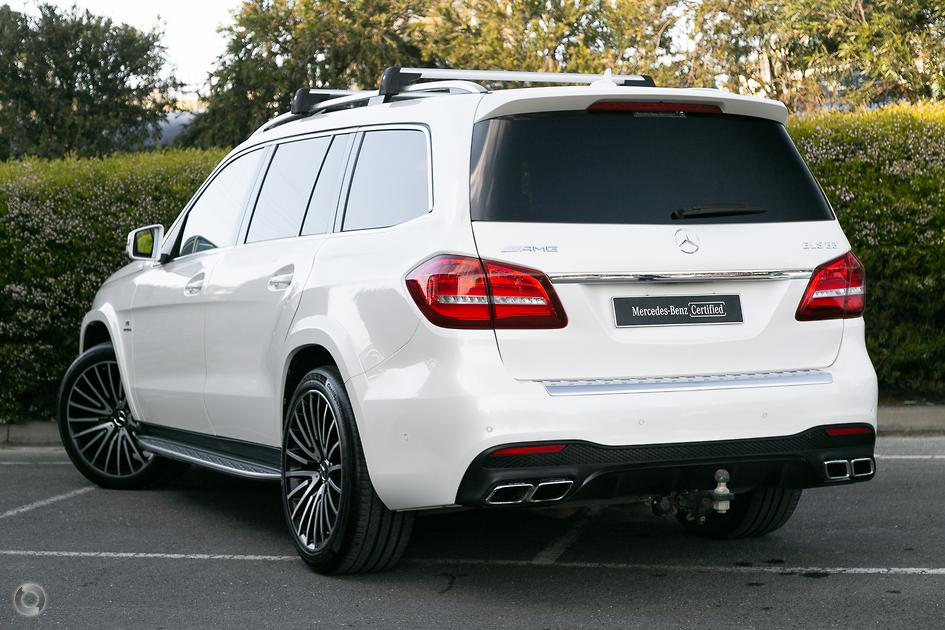 2016 Mercedes-Benz GLS 63 AMG Wagon
