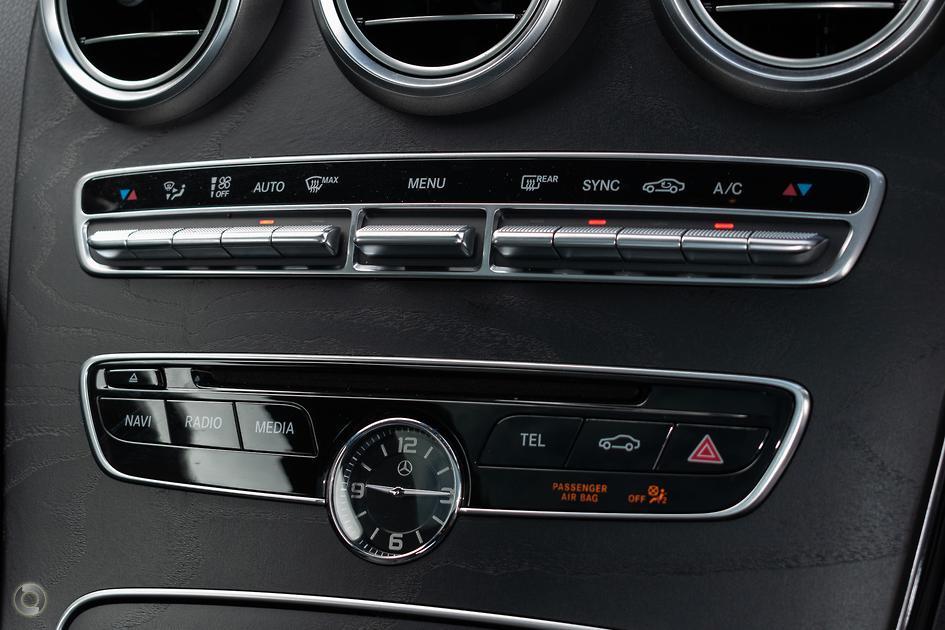2017 Mercedes-Benz C 200 Coupe