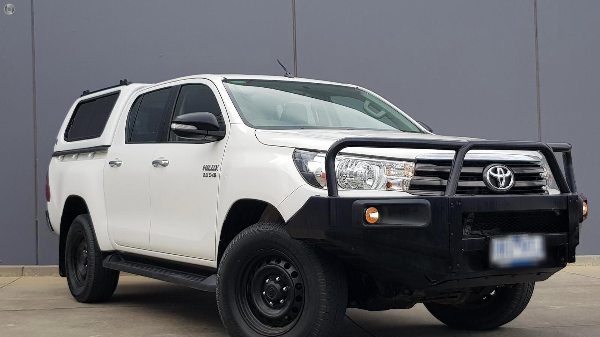 2016 Toyota Hilux SR GUN126R