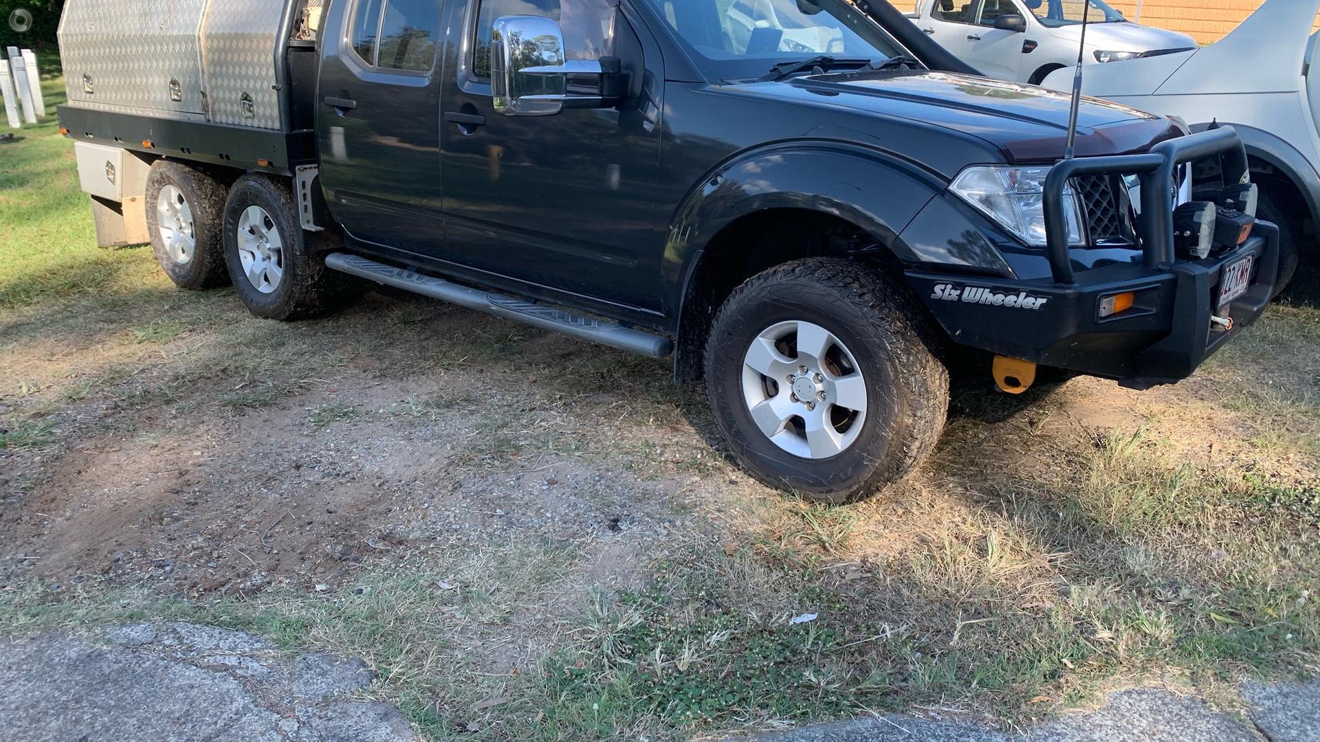 2007 Nissan Navara ST-X D40