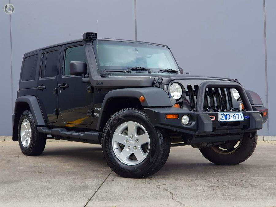 2013 Jeep Wrangler Unlimited Sport JK