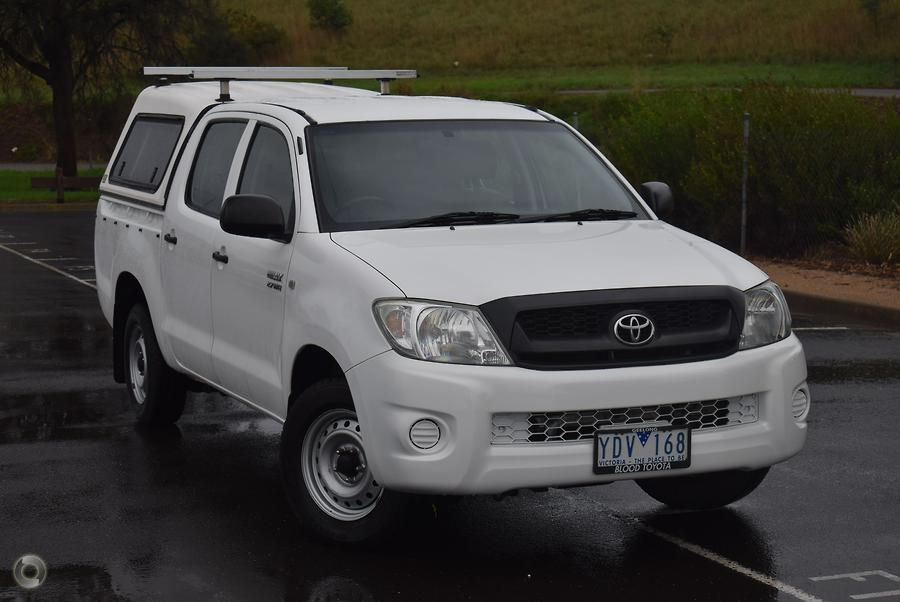2010 Toyota Hilux Workmate TGN16R