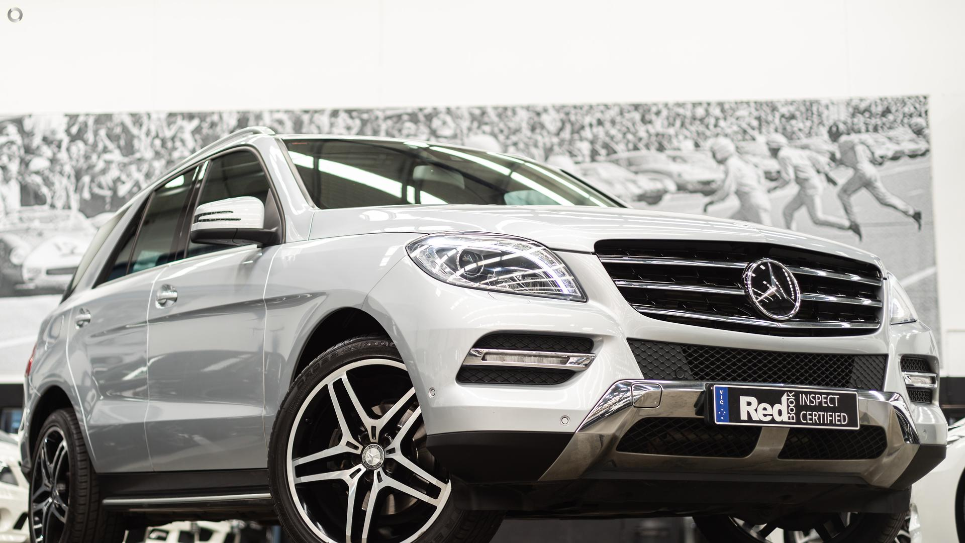 2012 Mercedes-Benz M-Class ML350 BlueTEC W166