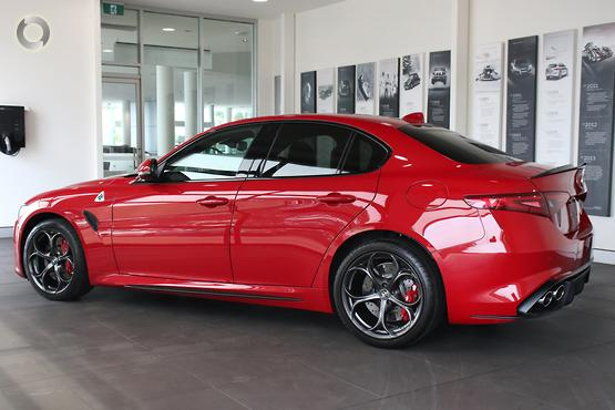 2018 Alfa Romeo Giulia Quadrifoglio (No Series)