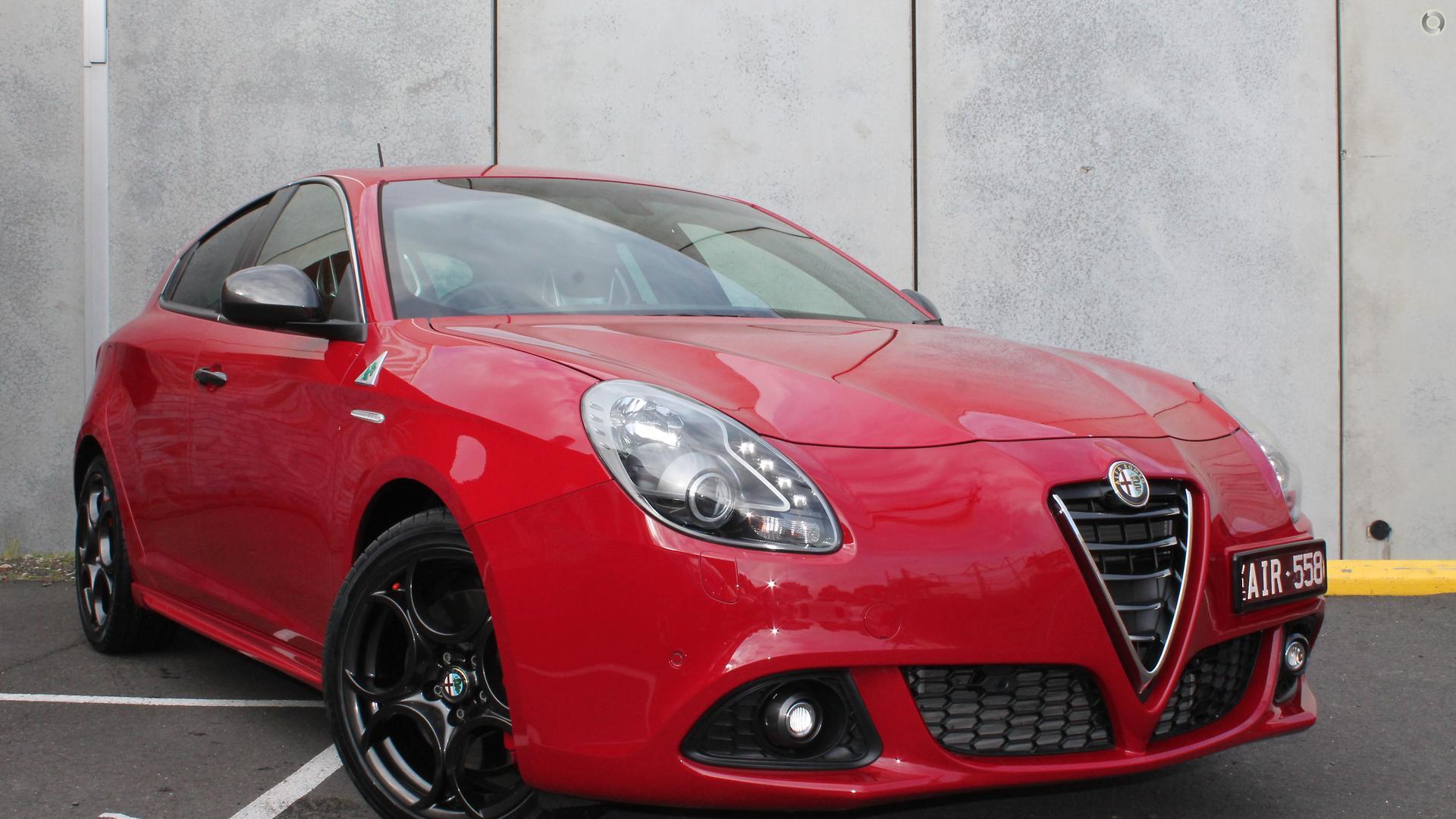 2015 Alfa Romeo Giulietta Quadrifoglio Verde Series 1