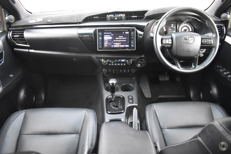 2019 Toyota Hilux Rugged X GUN126R