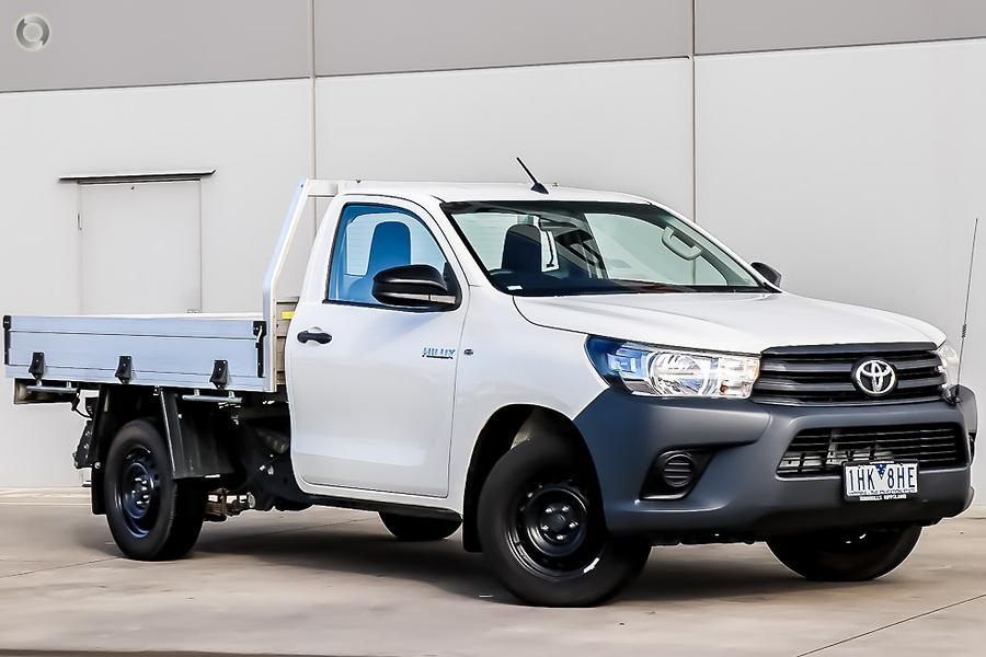 2016 Toyota Hilux Workmate TGN121R