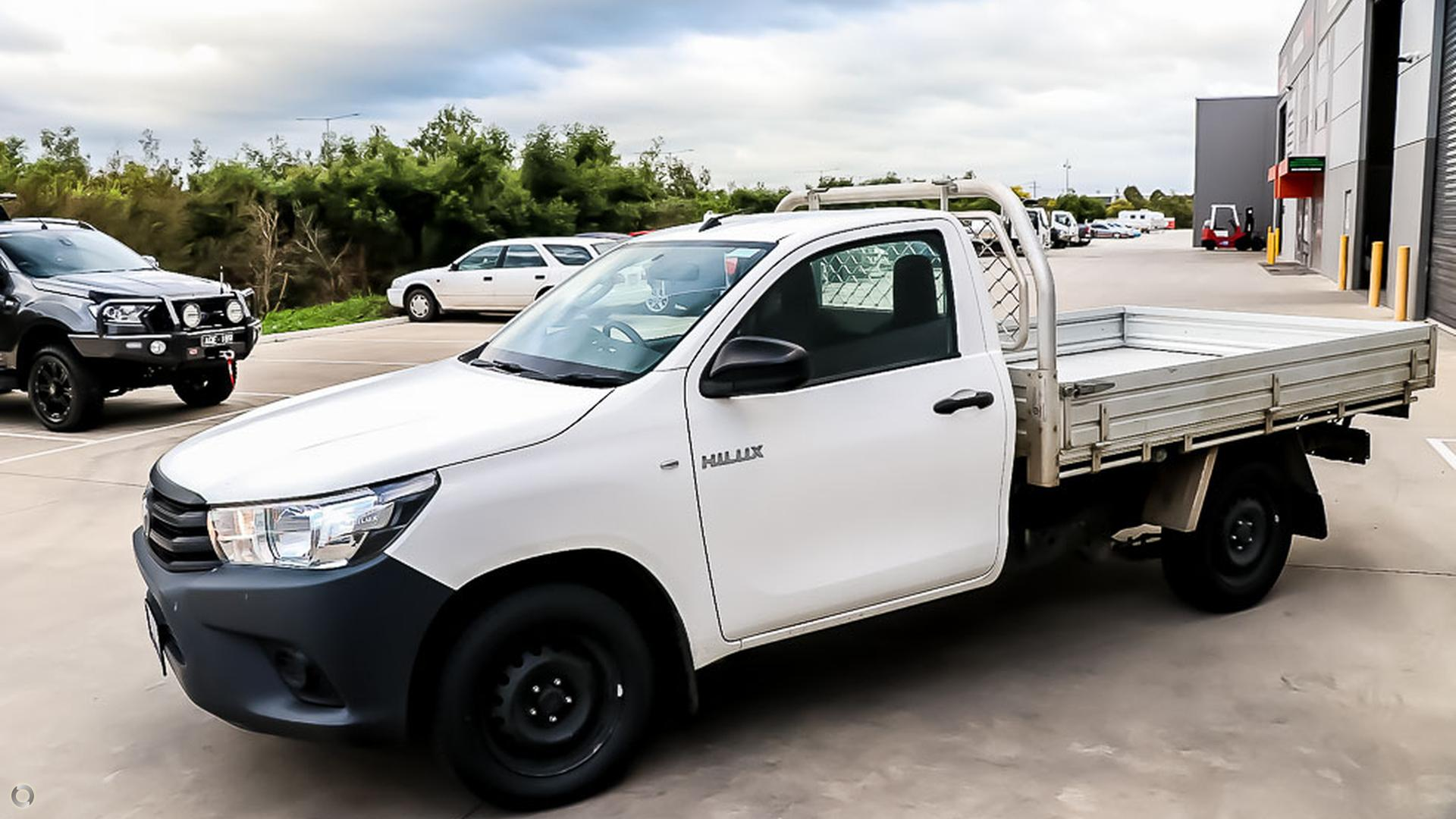2015 Toyota Hilux Workmate TGN121R