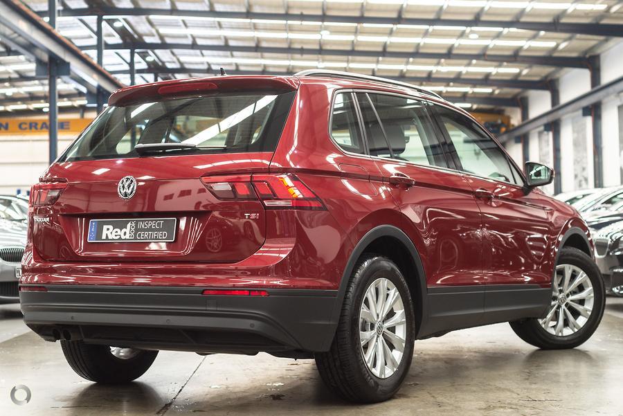 2017 Volkswagen Tiguan 132TSI Comfortline 5N