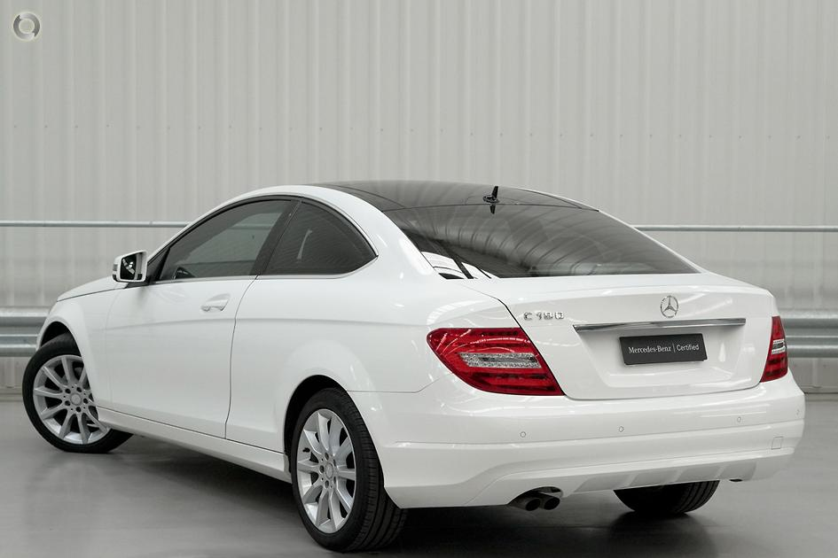 2012 Mercedes-Benz C 180 BLUEEFFICIENCY Coupé