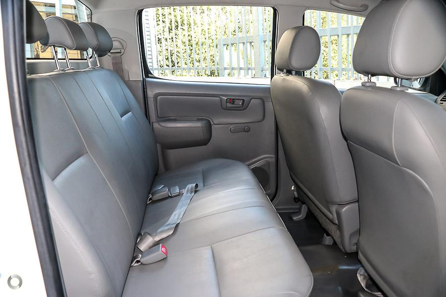2009 Toyota Hilux Workmate TGN16R