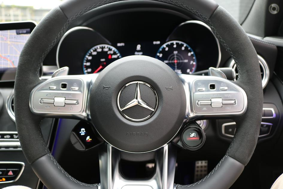 2019 Mercedes-Benz C 63 AMG S Sedan