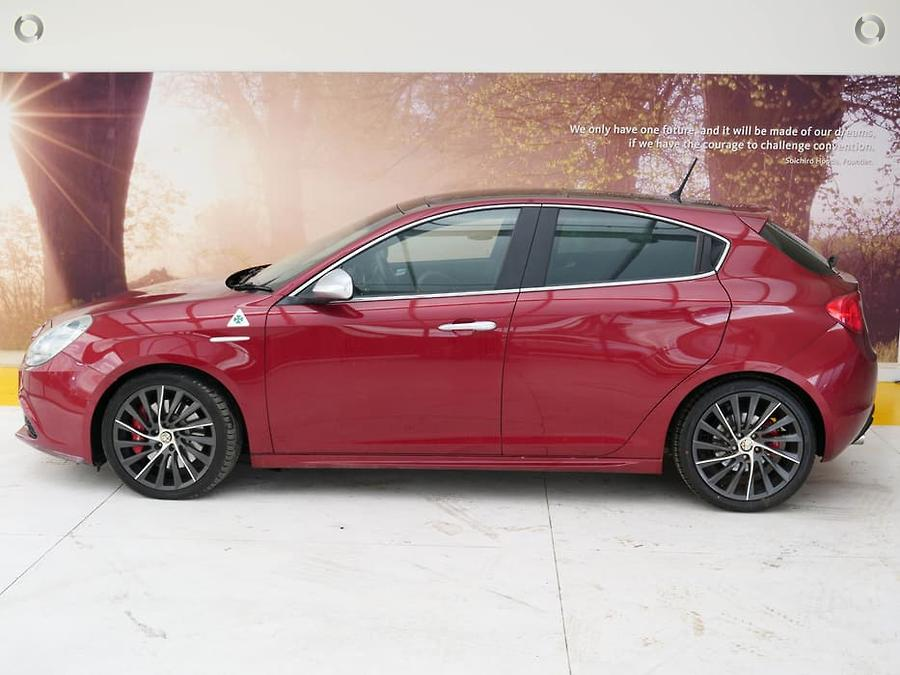 2011 Alfa Romeo Giulietta QV Series 0