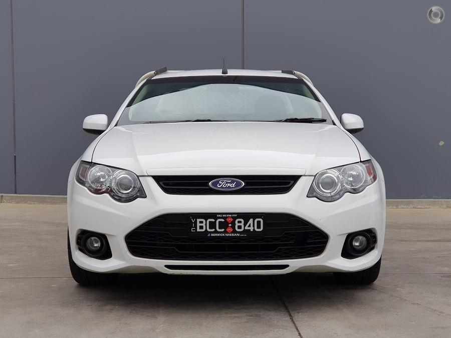 2012 Ford Falcon Ute XR6 EcoLPi FG MkII