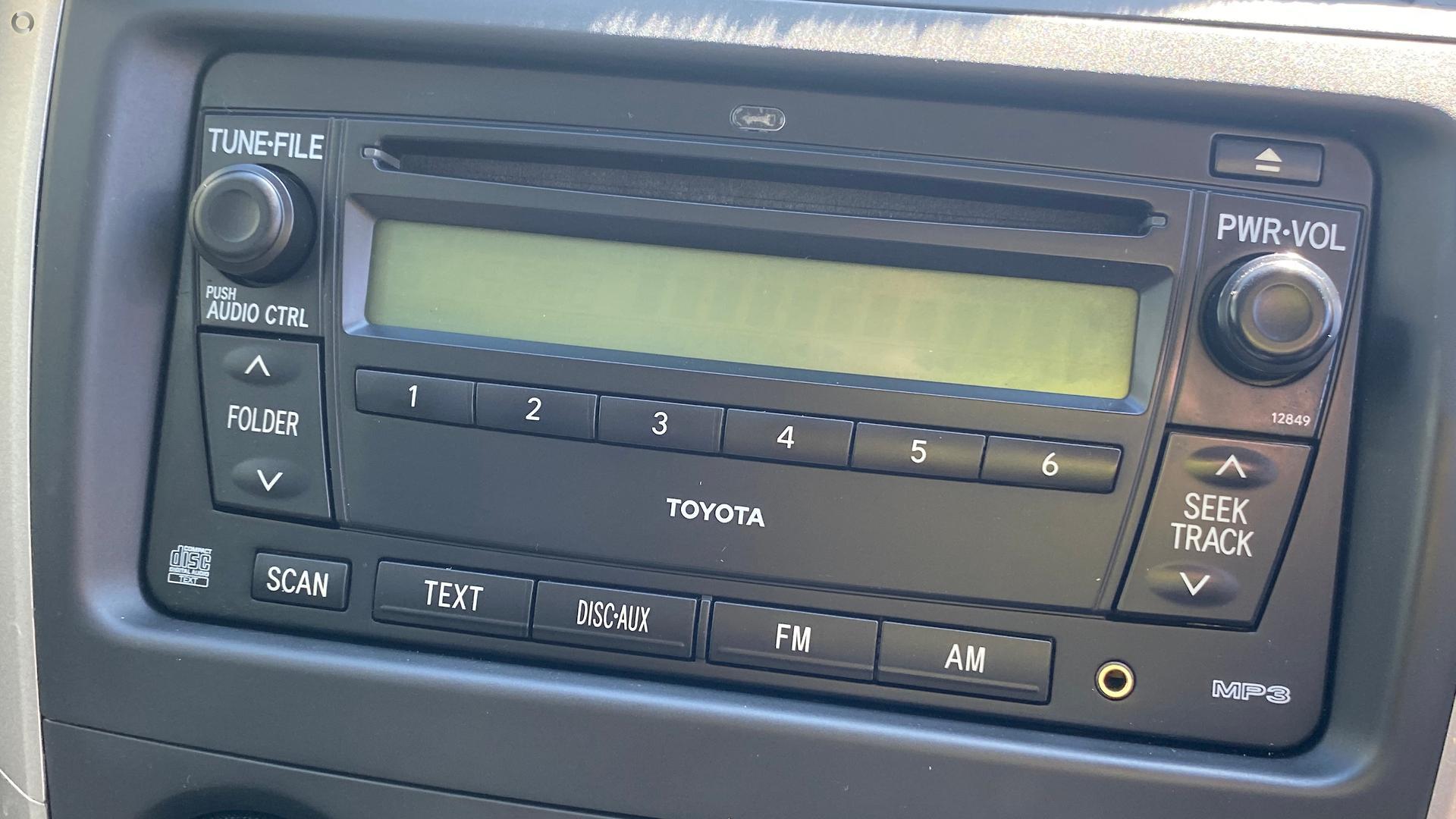 2007 Toyota Corolla Ascent ZRE152R
