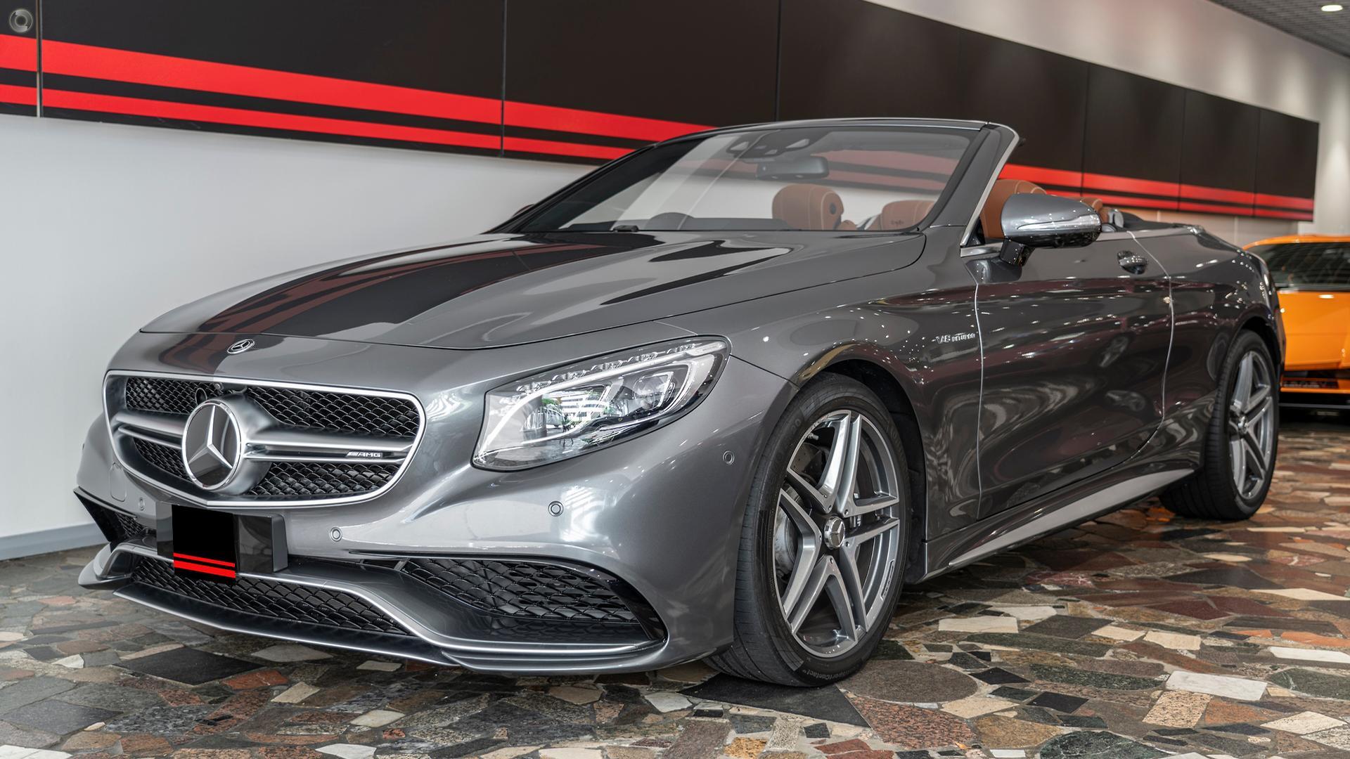 2017 Mercedes-Benz S63 AMG  A217