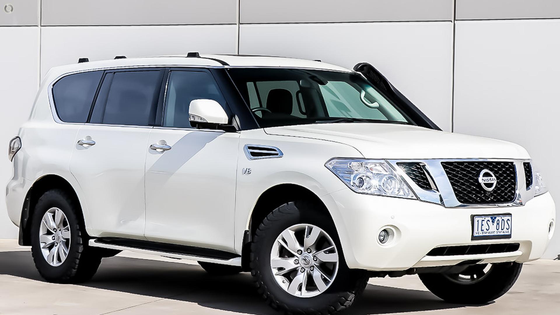 2015 Nissan Patrol Y62