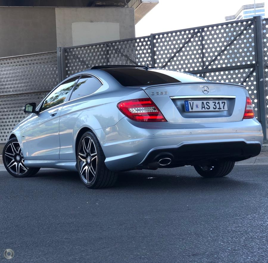2013 Mercedes-Benz C250 C204