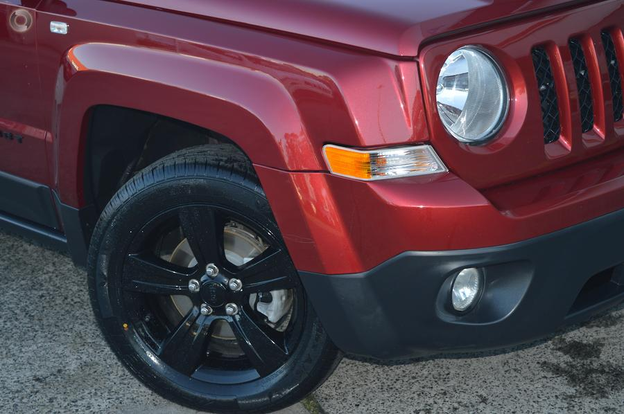 2014 Jeep Patriot Blackhawk MK