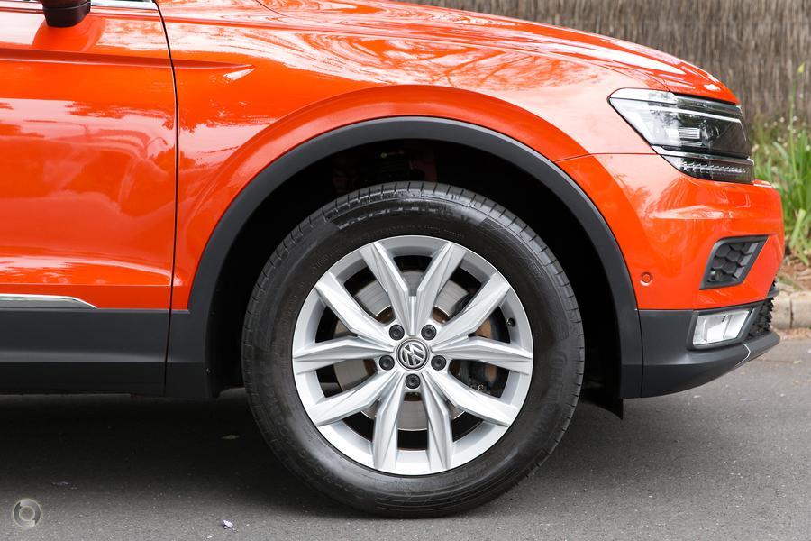 2017 Volkswagen Tiguan 162TSI Highline 5N