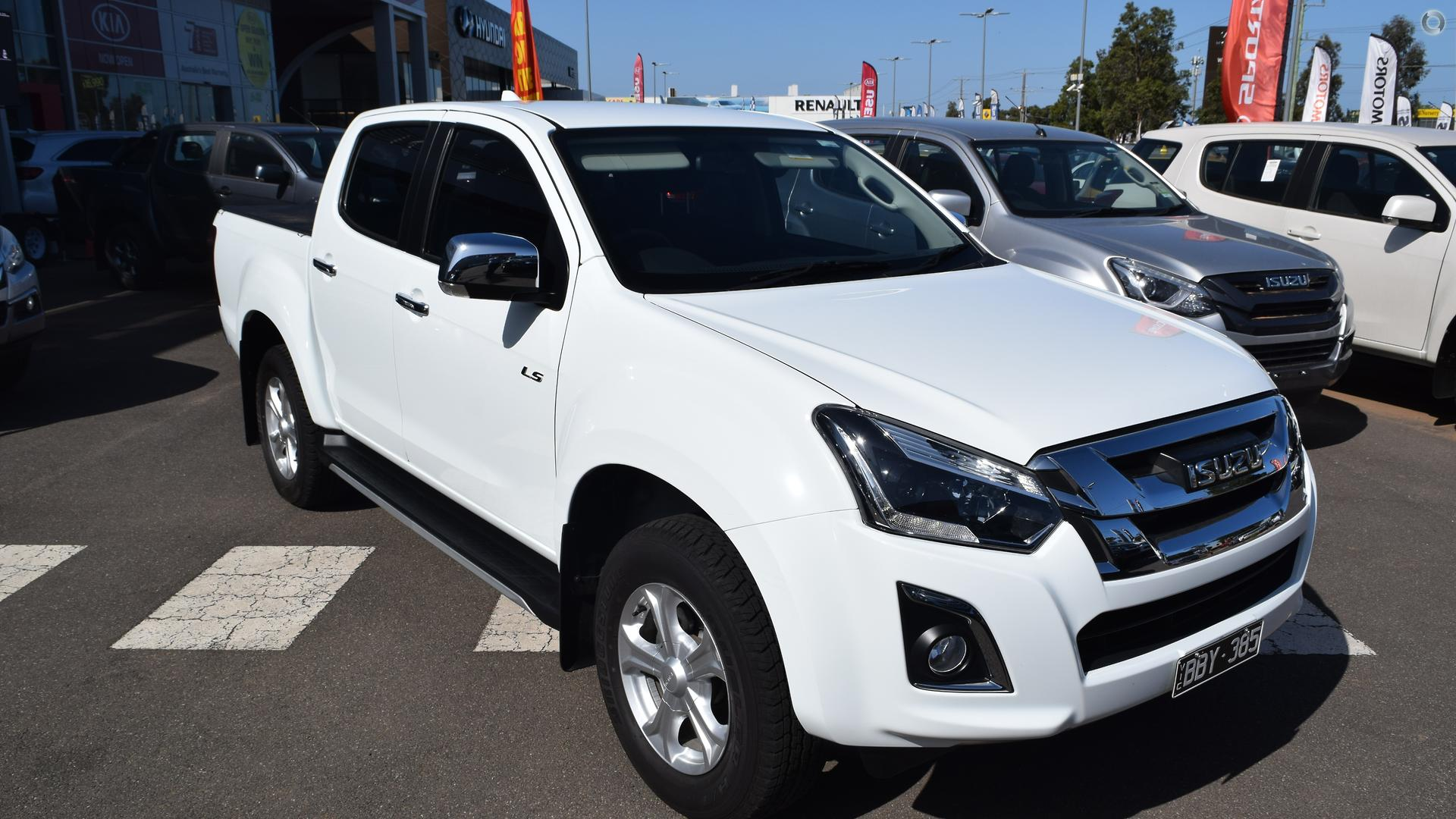 2019 Isuzu D-MAX LS-U High Ride (No Series)