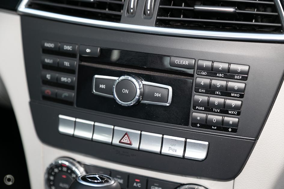 2011 Mercedes-Benz C 180 Coupe