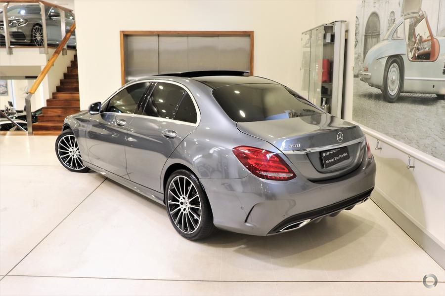 2017 Mercedes-Benz C300  W205
