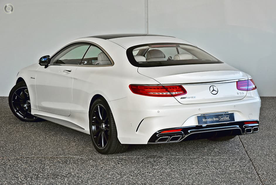 2017 Mercedes-Benz S 63 AMG Coupe