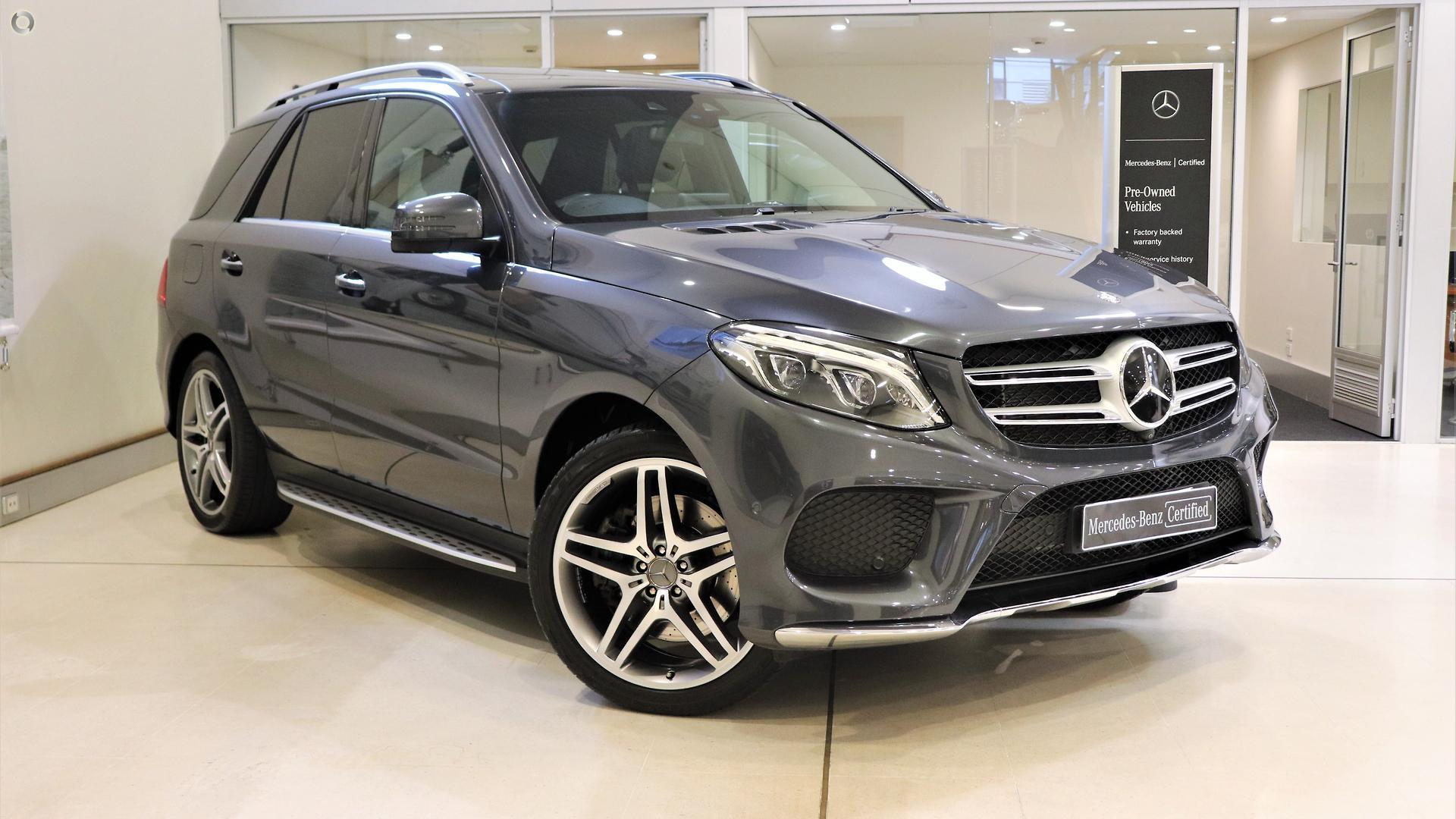 2016 Mercedes-Benz GLE400  W166