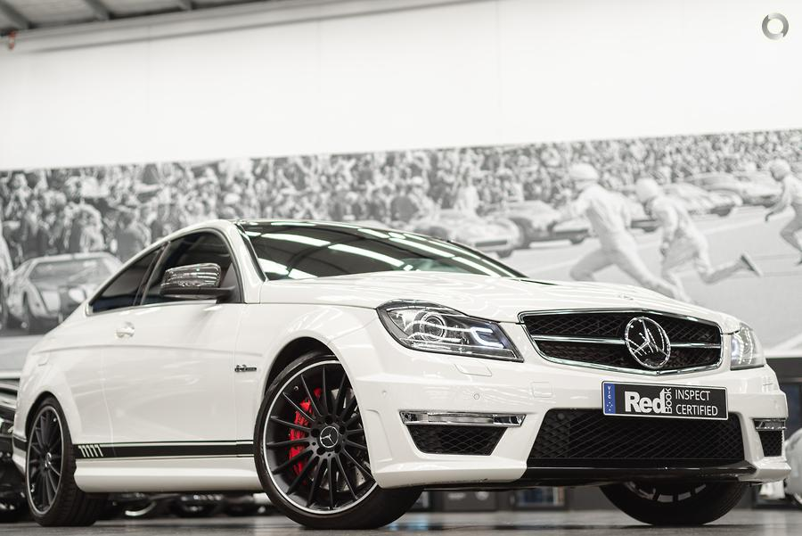 2012 Mercedes-Benz C-Class C63 AMG Performance Package C204