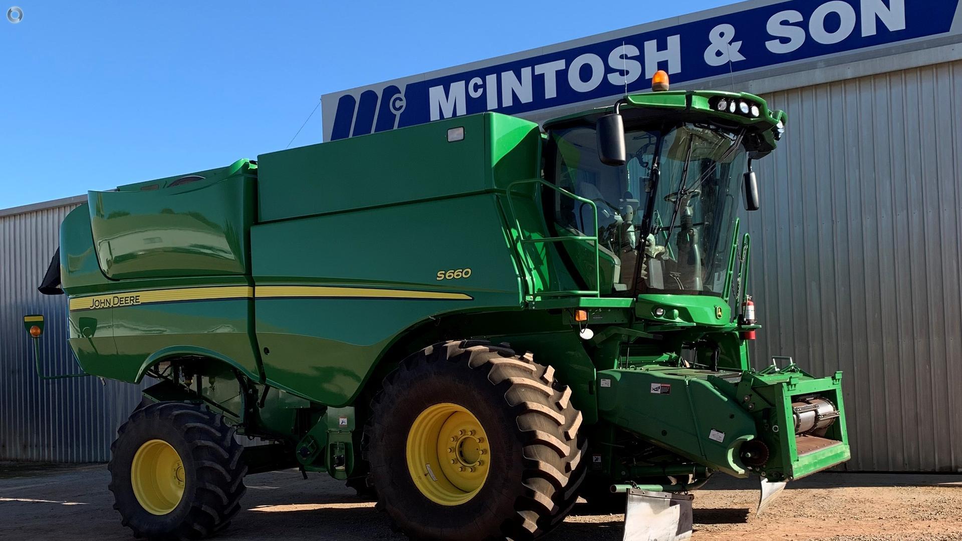 2013 John Deere S660 Harvester