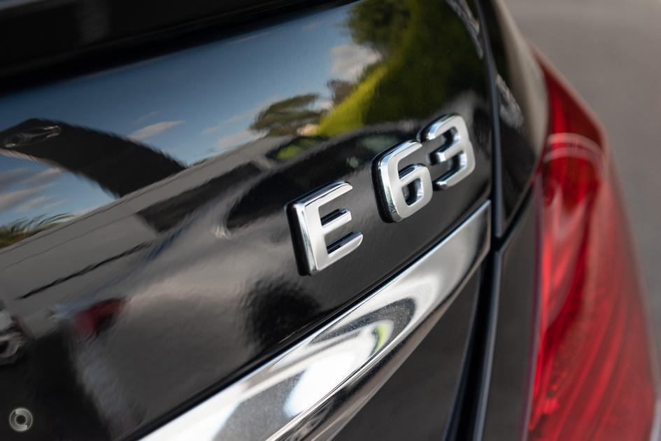 2018 Mercedes-Benz E 63 AMG Sedan