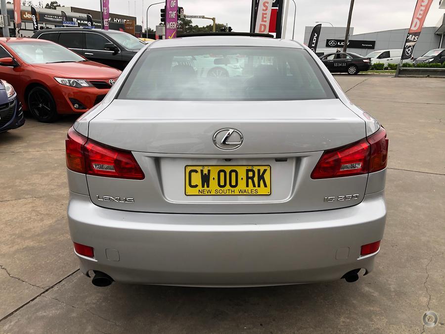2007 Lexus IS IS250 Prestige GSE20R