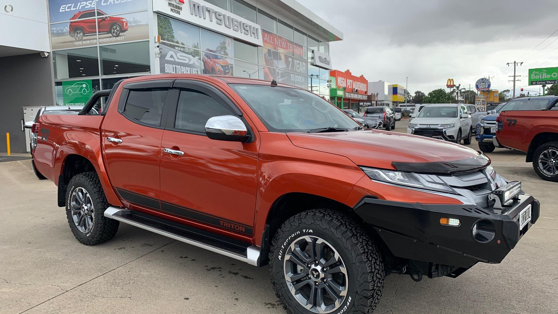 2019 Mitsubishi Triton Toby Price Edition MR