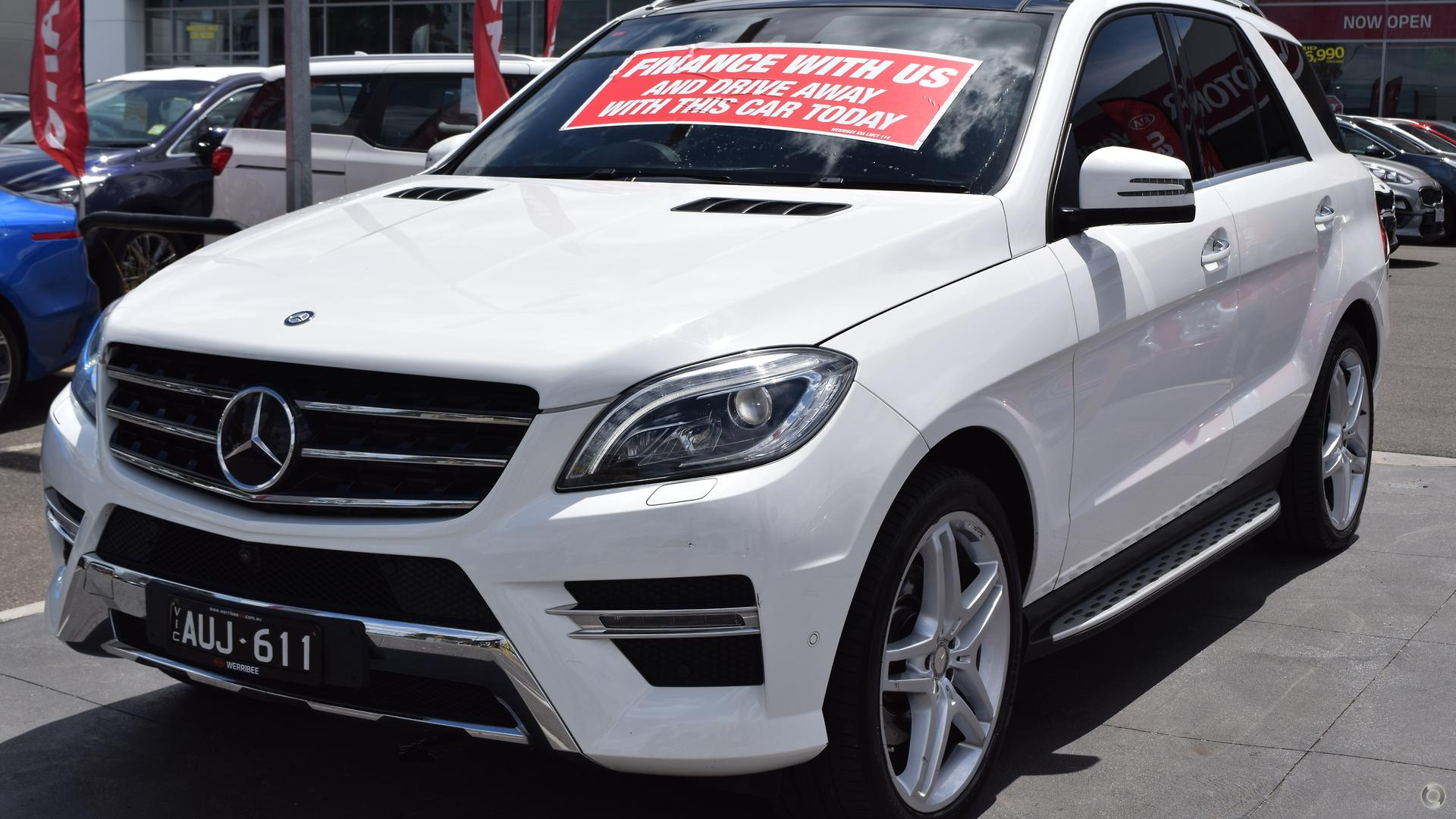 2014 Mercedes-benz Ml350 Bluetec  W166
