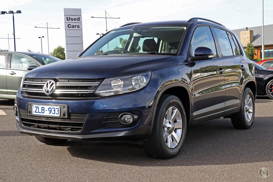 2012 Volkswagen Tiguan 132TSI Pacific 5N