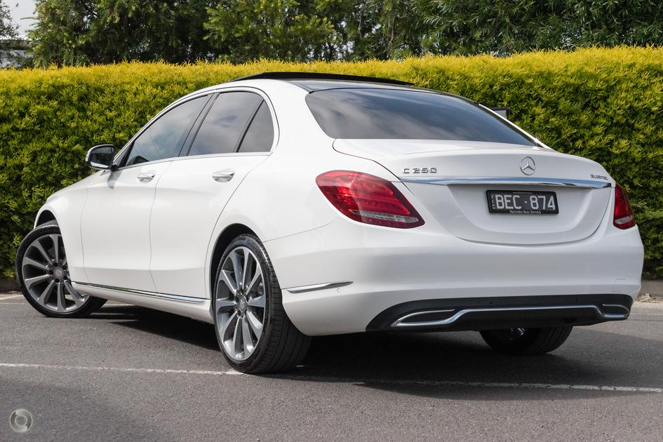 2015 Mercedes-Benz C 250 BLUETEC Sedan