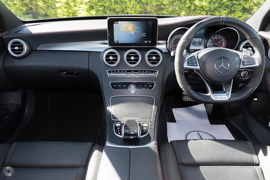 2017 Mercedes-Benz C 43 AMG Sedan