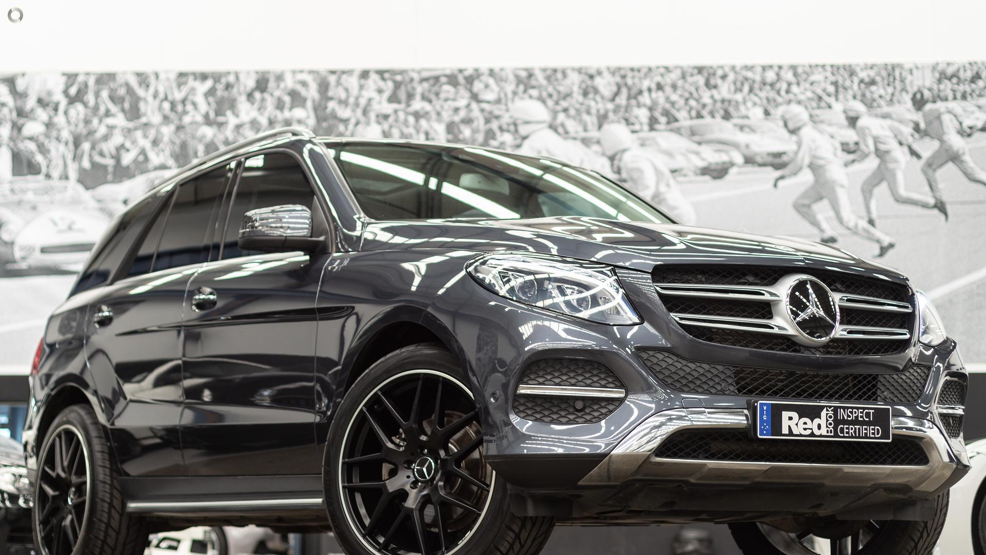2016 Mercedes-Benz GLE-Class W166