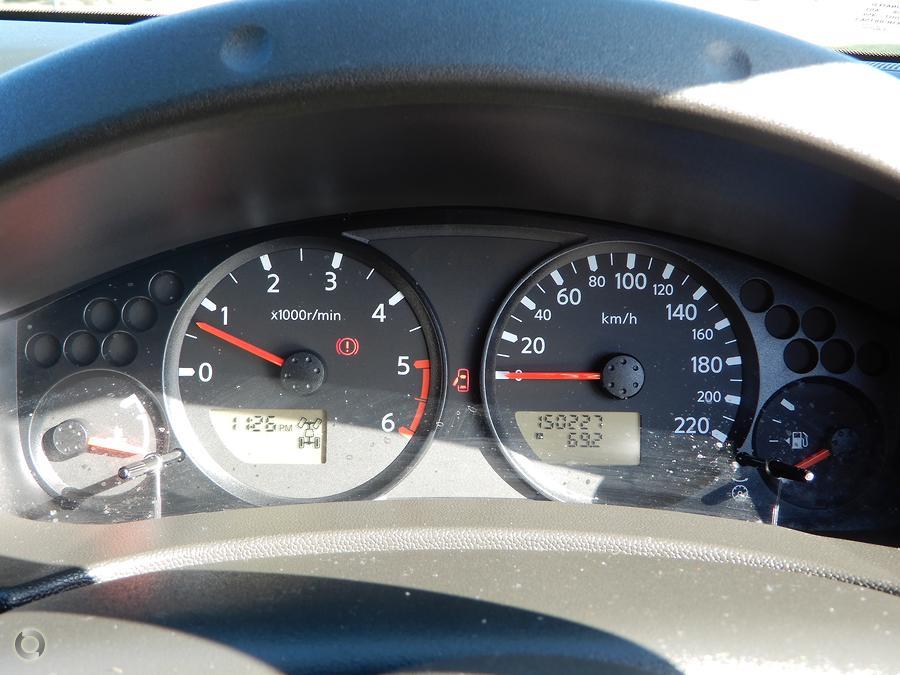 2008 Nissan Navara ST-X