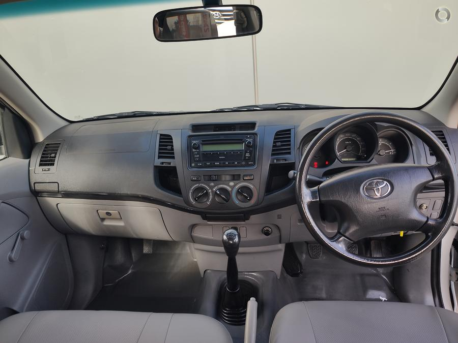 2007 Toyota Hilux Workmate TGN16R