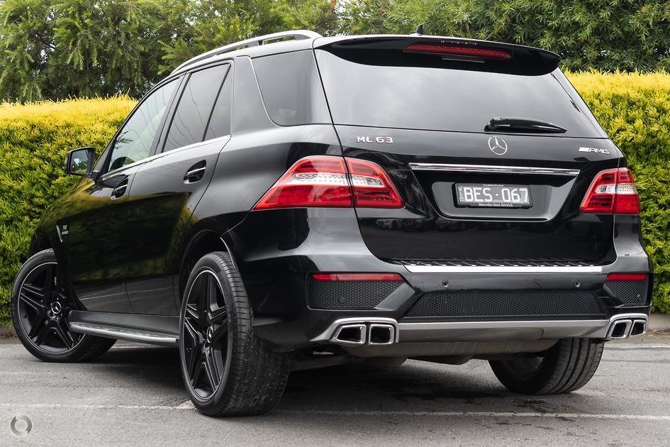 2013 Mercedes-Benz ML 63 AMG Wagon